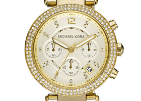 Michael Kors Crystal Chronograph Ladies Watch