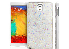 Deluxe Sparkle Clear Diamond Case for Samsung Note 3