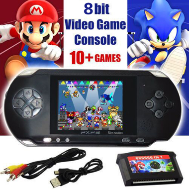 New Arrival 2.8 Inch PxP3 Portable Game Player- Great Christmas Gift !