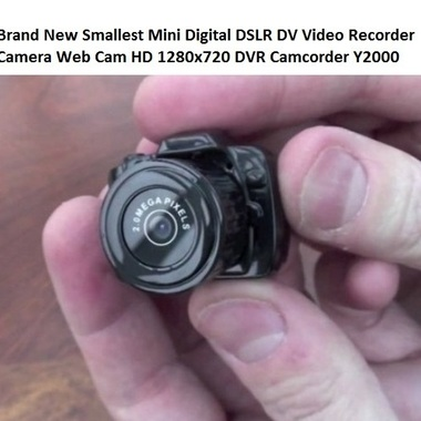 World Smallest Camera Mini DV Sport Camcorder Espia Micro Cam Video Voice Record