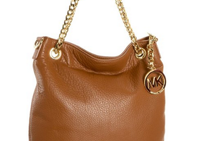 Michael Kors Jet Set Chain Tote Brown