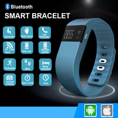 TW64 silicone gifts custom smart wristbands, call reminders, Bluetooth wearable