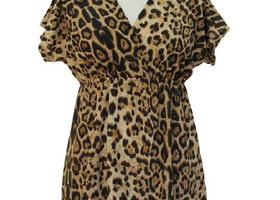 Plus Size Leopard Print Tunic Top Choose from 4 Colors