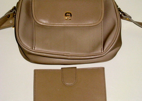 Etienne Aigner Handbag with Attachable Wallet