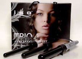 Iso Trio Zebra Clipless Curler Set (19,25,32 mm)