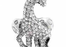 Glam Giraffe Stretch Ring