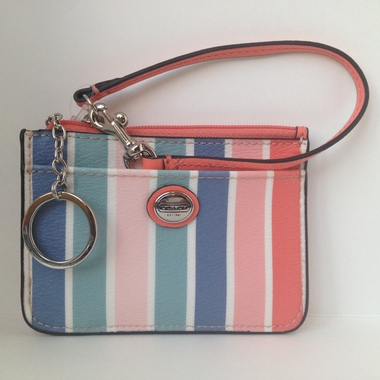 COACH F51209 PEYTON MULTI STRIP ID SKINNY