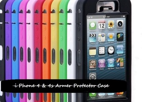 Heavy Duty Hybrid Defender Armor Case Cover for iPhone