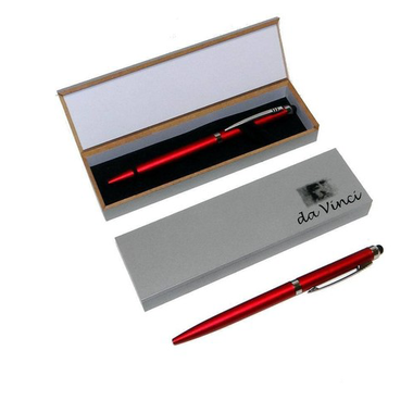 2-in-1 Ballpoint Pen & Touchscreen Stylus with Gift Box by da Vinci