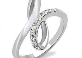 Love Infinity Stainless Steel Ring