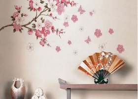 Cherry Blossom Removeable Decals