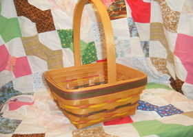 1998 Longaberger Large Easter Basket