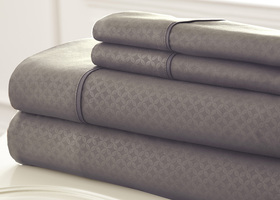 FULL 4 Piece Embossed Sheet Set SOHO