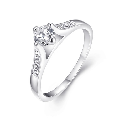 R019-8 Fashion Women Jewelry 925 sterling silver ring