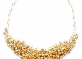 Bounty of Bling Necklace