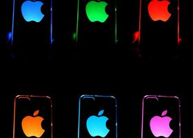 Color Changing LED Lights Hard Case iPhone 5