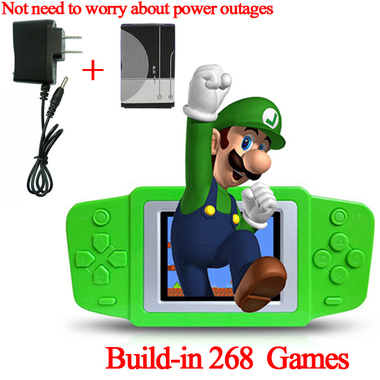 2.5 Inch 268 in 1 Games Nostalgic Game Console