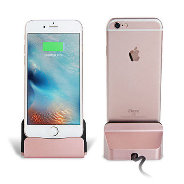 pink charger stand for iphone 5 5s 6 6s plus 7 7plus