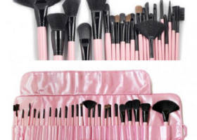 24pcs superior Professional Soft Cosmetic Makeup Brush