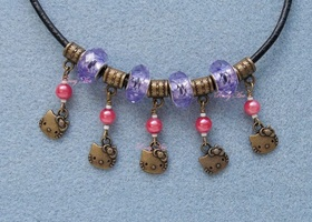Euro Hello Kitty Charms