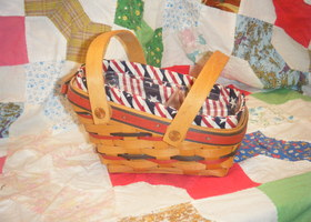 1996 Longaberger All American Summertime Basket