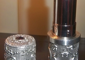 Models Prefer Collectible Pewter Lipstick Windsor Wine