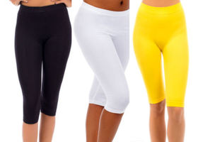 Women's Short leggings choose from 3 colors