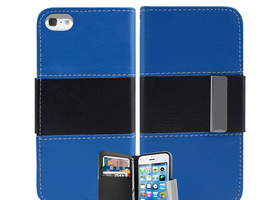 Credit Card  Flip Pouch Case for iPhone 5 5S