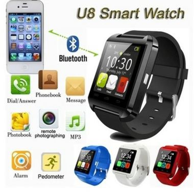 Bluetooth Smart Watch WristWatch U8 UWatch Fit for Smartphones IOS Apple iphone