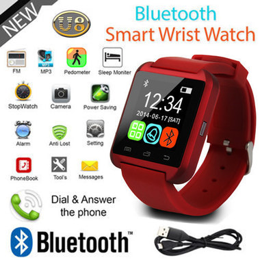 Bluetooth Smart Watch For Android IOS Samsung iPhone LG