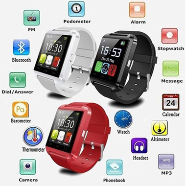 Men and Women Fashion Popular Outdoor Sport 2.4GHz U8 Bluetooth Smartwatch Bluet