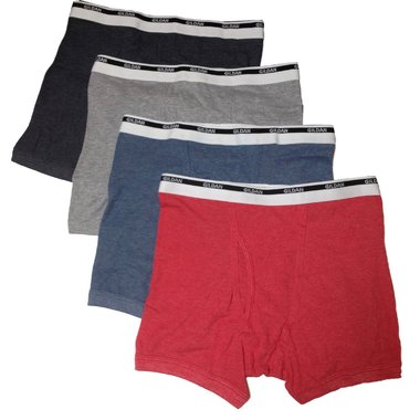 4-Pack: Gildan Men's 100% Cotton Briefs