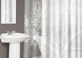 Tree Pearl Shower Curtain