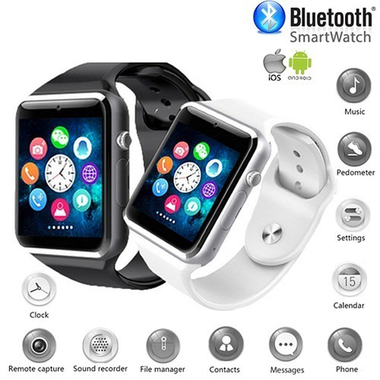 Bluetooth Smart Watch With SIM Phone Call,Anti-lost,Activity Tracking, Sleep Mon