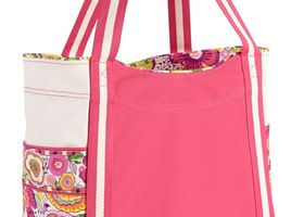 Vera's Large Colorblock Tote-New w/tags-2 color choices