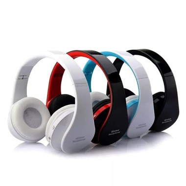 High Definition Foldable Bluetooth Wireless Headphones Stereo Bass FM Adjustable