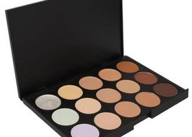 New 15 color Eyeshadow Camouflage Concealer Palette