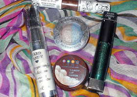 5-Piece Hard Candy Cosmetics Lot
