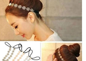 Pick one: Silver, Gold, Bronze Rose Headband