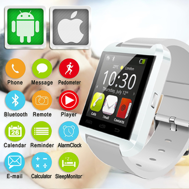 Hot Bluetooth Android IOS Digital Smart watch