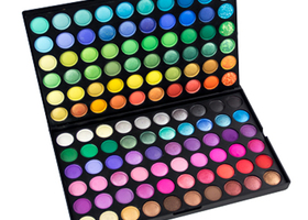 Crown Brush 120 Color Deluxe Eye Shadow Palette