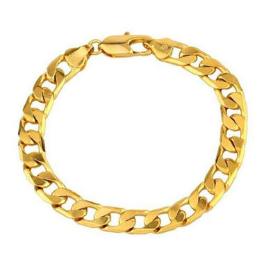 14K Gold Filled Cuban Bracelet