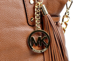 MICHAEL Michael Kors Megan Large Zip Top Shoulder Bag