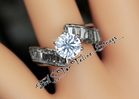 "✦ 5 6 7 8 9 or 10 ""Enlightened Path"" AAA Grade CZ Ring"