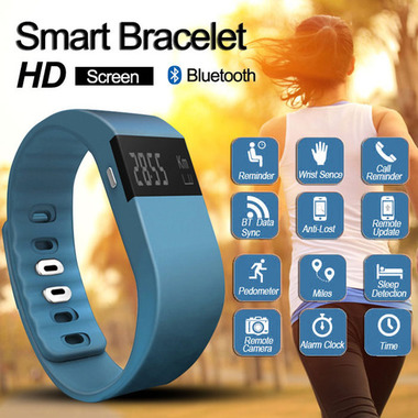 Bluetooth Smart Watch Bracelet Fitness Tracker Pedometer
