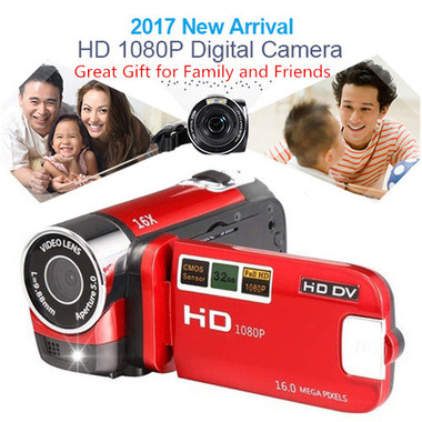 2017 Newest 16MP DVR TFT 1080P Camcorder Digital Camera 16X Full HD Video 2.7''