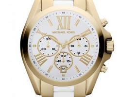 Michael Kors Bradshaw Gold-Tone Chronograph Watch