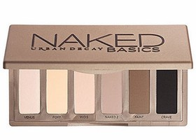 Urban Decay naked basics palette eye make up brown nude