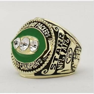 NFL 1967 Green Bay Packers Champion Ring