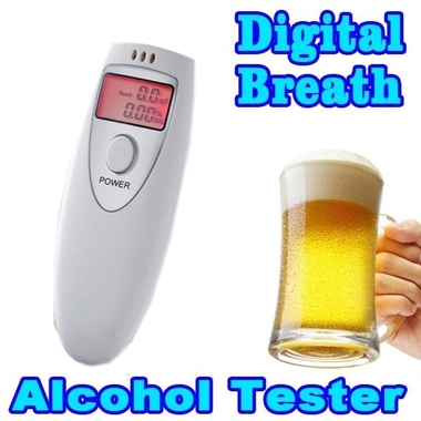 Mini Digital Breath Alcohol Tester Breathalyzer Professional Alcohol Breath Test